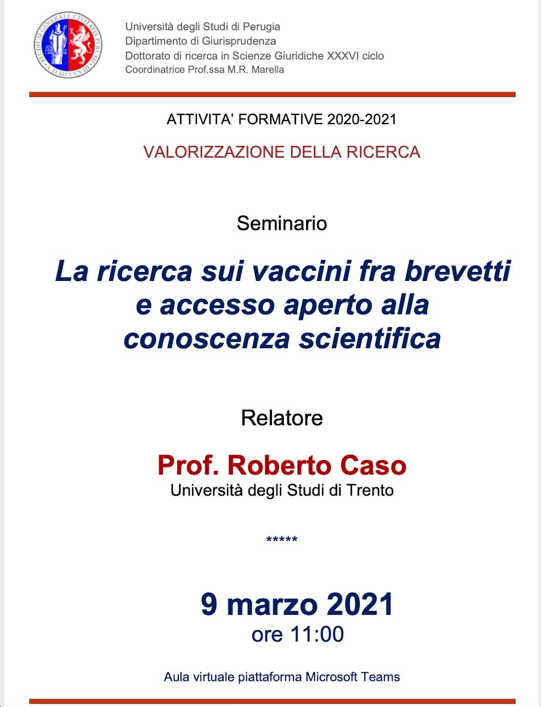 La ricerca sui vaccini tra brevetti e accesso aperto alla conoscenza scientifica